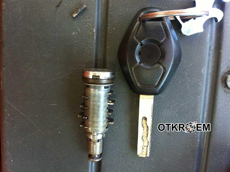 Ремонт замка двери BMW E53,E46