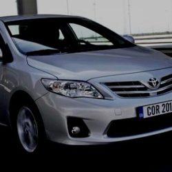 Ремонт дверного замка Toyota Corolla